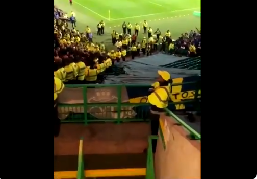 Watch Celtic supporters destroy AIK neds in ruthless style